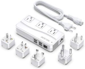 Bestek International Power Converter (White)