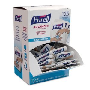 Purell Single Packets- Hand Sanitizer