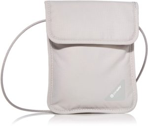 Pacsafe Anti-Theft RFID Blocking Neck Pouch