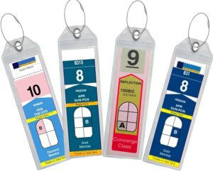 Cruise Luggage Tags (Royal Caribbean and Celebrity)