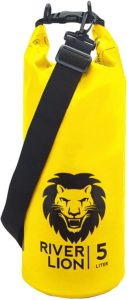 Adventure Lion Premium Waterproof Dry Bags for Kayaking, Camping, Boating