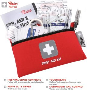 Portable First Aid Travel Kit